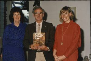 1986 Launch of The Complete Australian Bushire Book -1