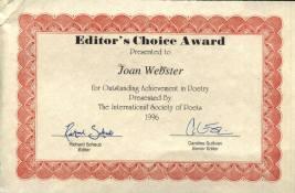 1996 Editors Choice Award
