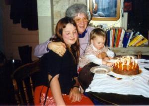2000 Joan 71st birthday Annie-Maya