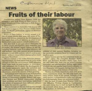 2012-04-05 FRUITS news clippping