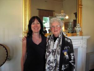2015-07-31 Claire and Joan at Govt House