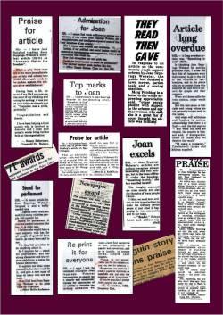 Articles praise 2