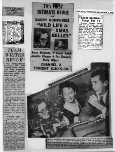 News clipping ABC TV revue-1 Joan and Edgar Seppings -2